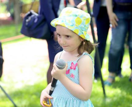 """Child Advocacy Day """"Voices for Children"""" open air event"""